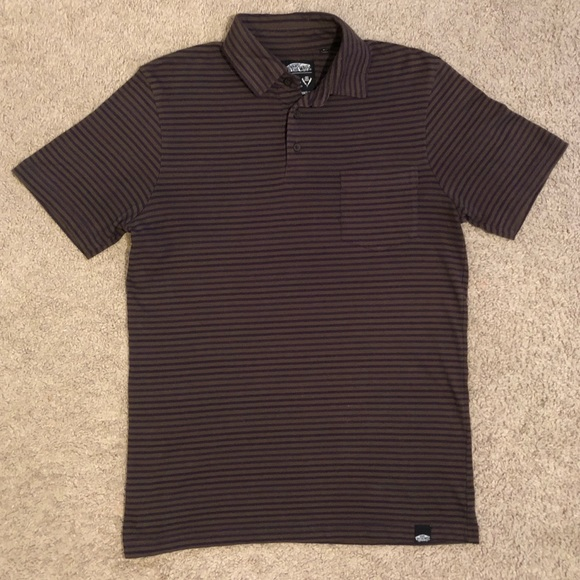 3265ed95029 Vans Shirts | Mens Off The Wall Small Polo Shirt Small | Poshmark